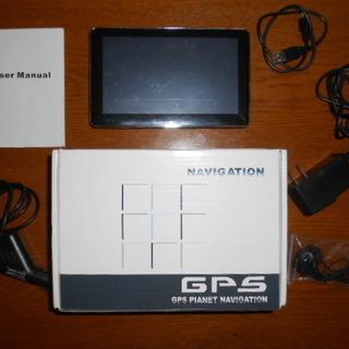 MEDIA TEK GPS Navigator 7インチポータブ...