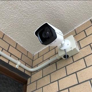 防犯カメラのお取り付けをします!