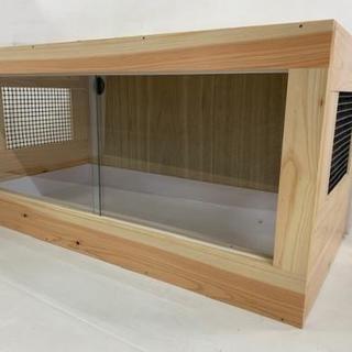 【只今交渉中】木製ケージ90*45*45+暖突L+サーモスタット...
