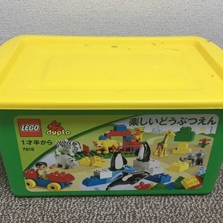 レゴ (LEGO) デュプロ 楽しいどうぶつえん+アイデアボックス