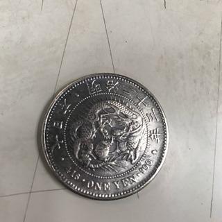 古銭 明治 一円 銀貨