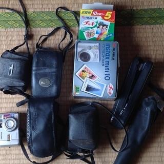 古いカメラ フイルムカメラ 三脚