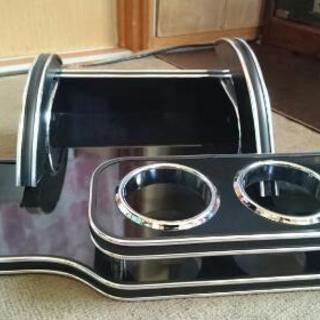 商談中ダイハツタントL350L360のフロントテーブル黒2…