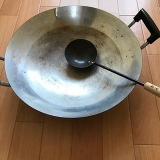 Used  中華鍋 2つセット