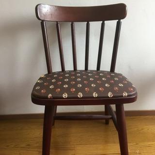 決まりました*難あり レトロ椅子