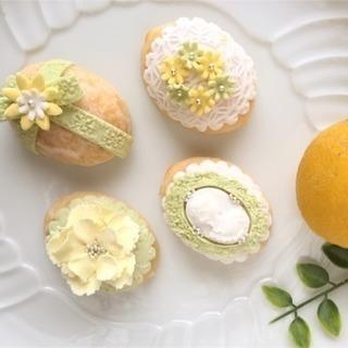 レモンたっぷり!マシュマロファンダントレモンケーキレッスン♪