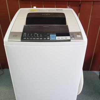 日立 ビートウォッシュ 乾燥機 洗濯機 8キロ 2014年製 お...