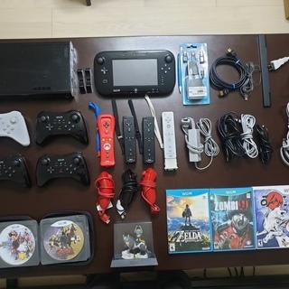 Wii U 本体(輸入版:米国)32ギガセット:20つソフト付き