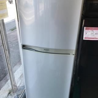 SHARP 2006年 2ドア 冷凍冷蔵庫