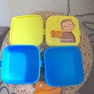 値下げ!★ お弁当箱 未使用 お猿のジョージ ★