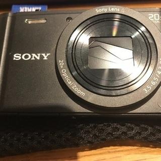 値下げ:SONY サイバーショット WX350を18000円でお...