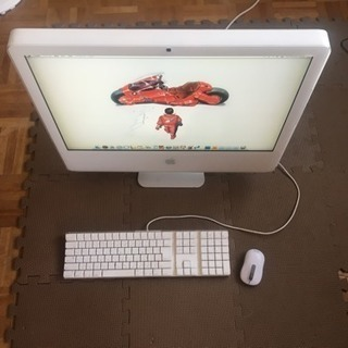 iMac intel White 2.16GHz 24インチ 大...
