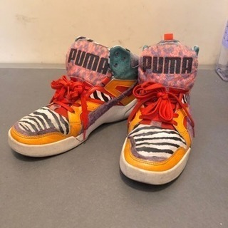 最終値下げ★ PUMA 靴  ハイカット スニーカー ★26.5cm