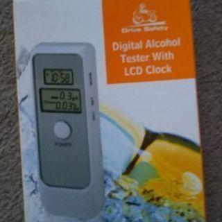 デジタルアルコールテスター 未使用品
