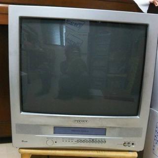シャープ テレビデオ 21型 (ジャンク) 2001年製