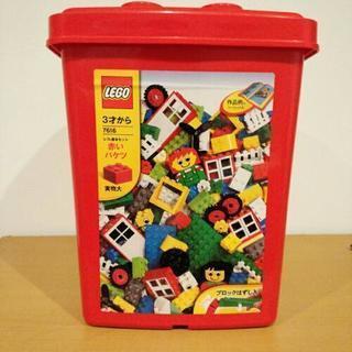 LEGO 赤いバケツ