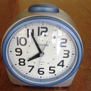 シチズン目覚まし時計