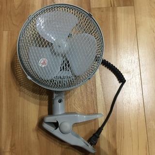 テクノス 18cm クリップ扇風機