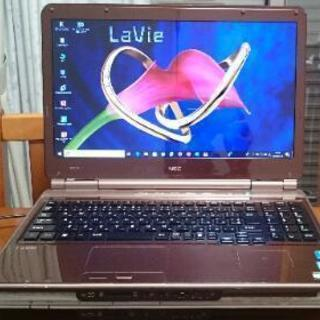 NEC Lavie WIndows 10 ノートパソコン