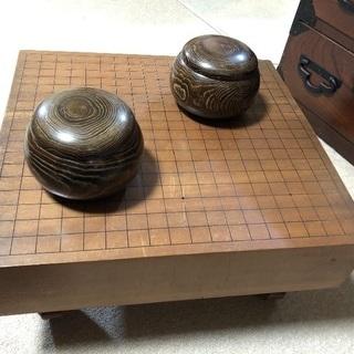 囲碁(碁盤と碁石)