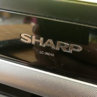SHARP AQUOS 液晶テレビ 26インチ リモコン付 亀山モデル - 成田市