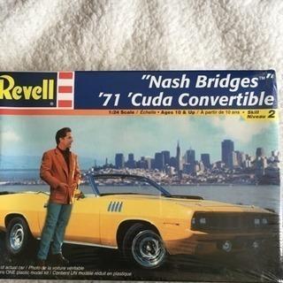 Revell Nash Bridges '71 'Cuda Co...