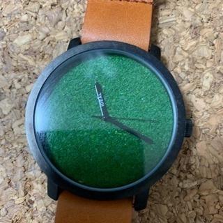 芝生 腕時計