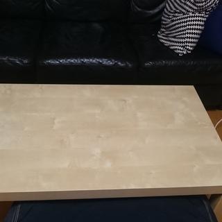 ローテーブル/ナチュラル木製5/25迄取りに来れる方
