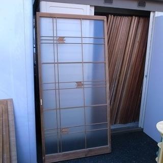 中古建具 ガラス扉 各種 差し上げます♪