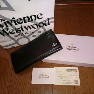 ヴィヴィアンウエストウッドの黒財布