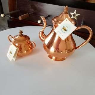 ポルトガル製コーヒーポット&シュガーポット
