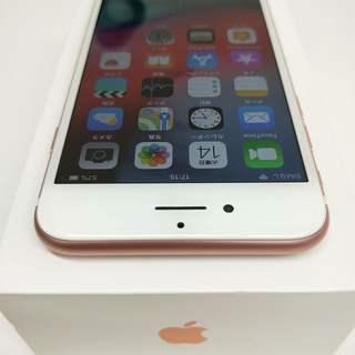 SIMフリー iPhone7 128GB Rose Gold 箱入りフルセット バッテリー86% - 携帯電話/スマホ