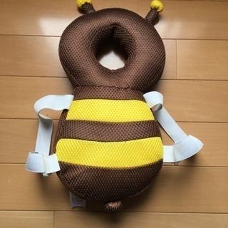 ごっつん防止 やわらかリュック  ミツバチ