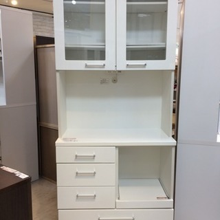 ニトリの2枚扉 食器棚 のご紹介です!!