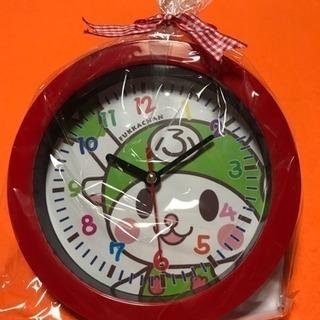 新品 掛け時計  ふかっちゃん