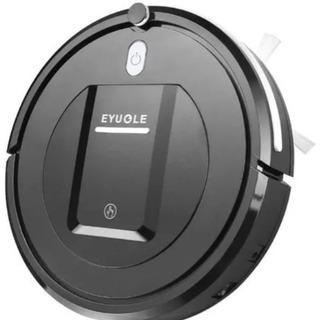 新品未使用!!EYUGLE ロボット掃除機 3つの掃除モード 黒
