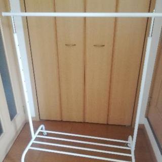 【値下げ】IKEA ハンガーラック 高さ調節可能♪