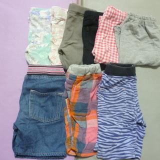 80~100センチのショートパンツ~長ズボン 13枚セット