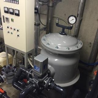 温泉や井戸水やプールの設備 (水処理装置)のエンジニア 未経験歓迎