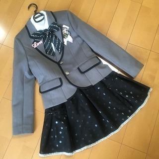 女の子 スーツ 卒業式