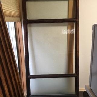 ガラス戸 建具 アンティーク 時代家具