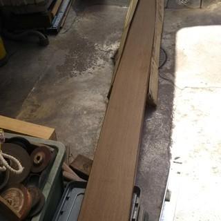 材木 幅木 180*3950*24 引き取り限定