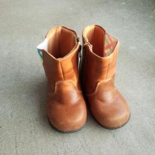 靴 子供用16センチ 中古
