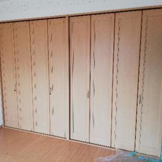 TOSTEM 室内建具 クローゼット折れ戸 レールタイプ  リフォーム
