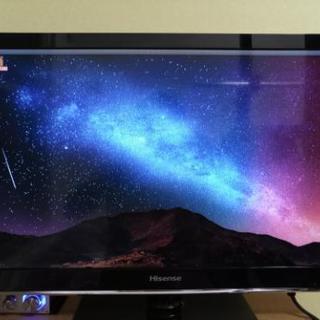 再々値下げしました!ハイセンス24型テレビ 超美品