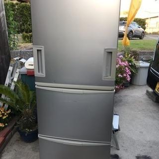 SHARPノンフロン冷凍冷蔵庫2008年3ドア