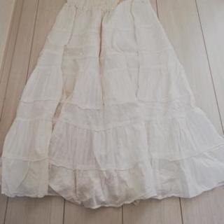 スカート(白) Mサイズ