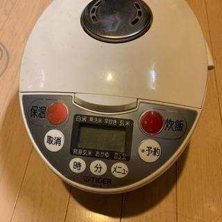 タイガーマイコンジャー炊飯器 3号炊 - 日野市