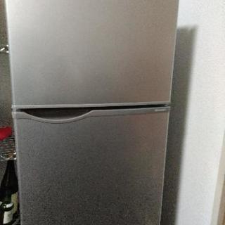 冷蔵庫 SHARP 118Lの画像