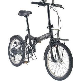 最終値下げ!Jeepの折りたたみ自転車🚴新品未使用ブラック